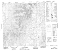 095D14 Mount Skonseng Canadian topographic map, 1:50,000 scale
