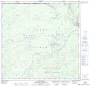 104P15 Lutz Creek Canadian topographic map, 1:50,000 scale from British Columbia Map Store
