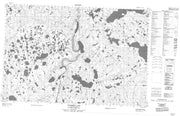 107A04 Hyndman Lake Canadian topographic map, 1:50,000 scale from Canada Map Store