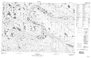 107A06 No Title Canadian topographic map, 1:50,000 scale from Canada Map Store
