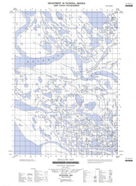 107B13E Shallow Bay Canadian topographic map, 1:50,000 scale