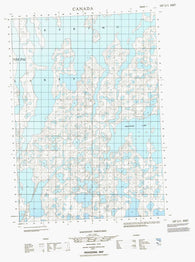 107C01E No Title Canadian topographic map, 1:50,000 scale