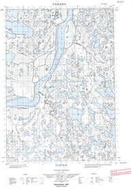 107C03E Tununuk Canadian topographic map, 1:50,000 scale