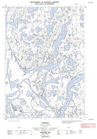 107C03W Tununuk Canadian topographic map, 1:50,000 scale