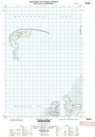 107C11W Hooper Island Canadian topographic map, 1:50,000 scale