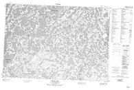 107D04 Jonas Lake Canadian topographic map, 1:50,000 scale