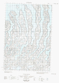 107D05E No Title Canadian topographic map, 1:50,000 scale