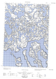 107D12E No Title Canadian topographic map, 1:50,000 scale