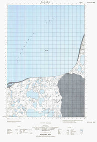 107D15E No Title Canadian topographic map, 1:50,000 scale