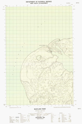 107E01E Maitland Point Canadian topographic map, 1:50,000 scale