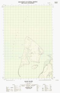 107E09E Baillie Islands Canadian topographic map, 1:50,000 scale