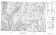 117A01 No Title Canadian topographic map, 1:50,000 scale