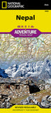 Buy map Nepal Adventure Map 3000 by National Geographic Maps