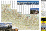 Nepal Adventure Map 3000 by National Geographic Maps - Front of map