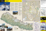 Everest Base Camp, Nepal, Adventure Map 3001 by National Geographic Maps - Front of map