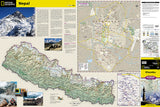 Khumbu, Nepal AdventureMap by National Geographic Maps - Front of map