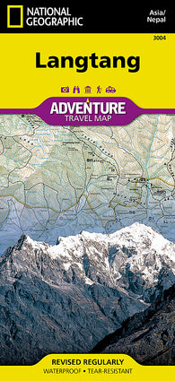 Buy map Langtang, Nepal Adventure Map 3004 by National Geographic Maps