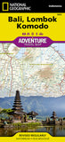 Buy map Bali, Lombok and Komodo Adventure Map 3005 by National Geographic Maps