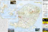 Bali, Lombok and Komodo Adventure Map 3005 by National Geographic Maps - Front of map
