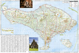 Bali, Lombok and Komodo Adventure Map 3005 by National Geographic Maps - Back of map
