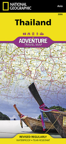 Buy map Thailand Adventure Map 3006 by National Geographic Maps