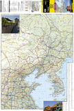 China, East Adventure Map 3008 by National Geographic Maps - Front of map