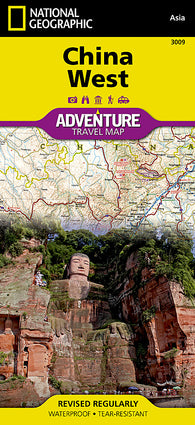 Buy map China, West Adventure Map 3009 by National Geographic Maps