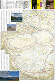 China, West Adventure Map 3009 by National Geographic Maps - Front of map