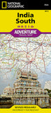 Buy map India, South Adventure Map 3014 by National Geographic Maps