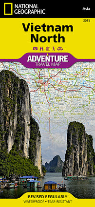 Buy map Vietnam, North, Adventure Map, Map 3015 by National Geographic Maps