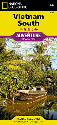 Buy map Vietnam, South Adventure Map 3016 by National Geographic Maps