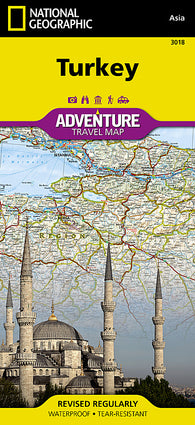 Buy map Turkey Adventure Map 3018 by National Geographic Maps