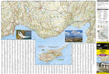 Turkey & Mediterranean Coast Adventure Map 3019 by National Geographic Maps - Front of map