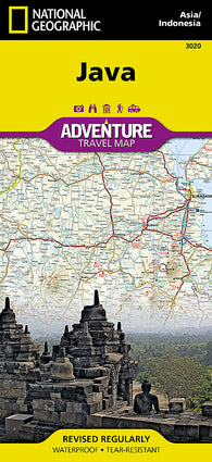Buy map Java Adventure Map 3020 by National Geographic Maps