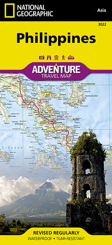 Buy map Philippines Adventure Map 3022 by National Geographic Maps