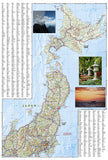 Japan Adventure Map 3023 by National Geographic Maps - Back of map