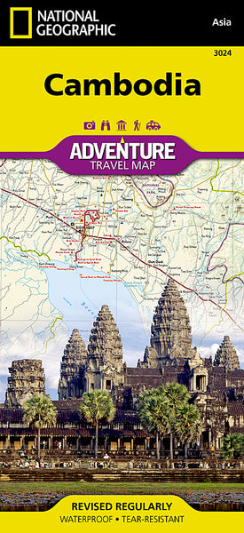 Buy map Cambodia, Adventure Map 3024 by National Geographic Maps