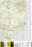 Cambodia, Adventure Map 3024 by National Geographic Maps - Front of map