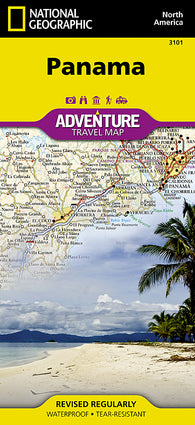 Buy map Panama Adventure Map 3101 by National Geographic Maps