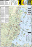 Belize AdventureMap by National Geographic Maps - Front of map