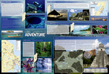 Belize AdventureMap by National Geographic Maps - Back of map