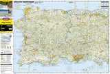 Puerto Rico Adventure Map 3107 by National Geographic Maps - Front of map