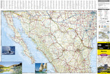 Mexico Adventure Map 3108 by National Geographic Maps - Front of map