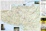Nicaragua, Honduras and El Salvador Adventure Map 3109 by National Geographic Maps - Front of map
