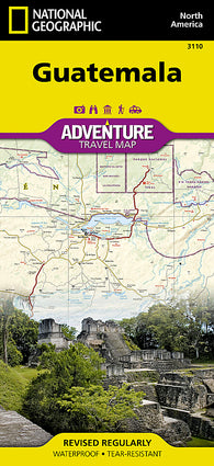 Buy map Guatemala Adventure Map 3110 by National Geographic Maps