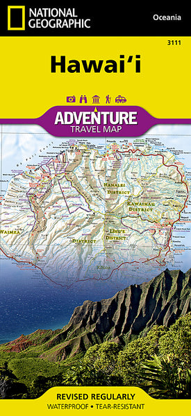 Buy map Hawaii Adventure Map 3111 by National Geographic Maps