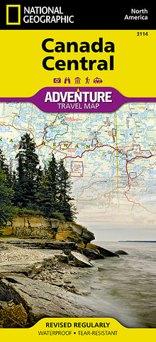 Buy map Canada, Central Adventure Map 3114 by National Geographic Maps