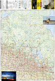 Canada, Central Adventure Map 3114 by National Geographic Maps - Front of map