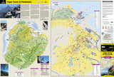Cape Town and Peninsula, South Africa AdventureMap by National Geographic Maps - Front of map