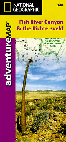 Buy map Fish River Canyon and the Richtersveld Adventure Map 3201 by National Geographic Maps